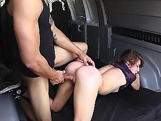 Rough sex in the Van