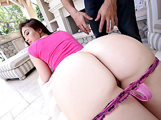 Super-steamy molten brunette Jody Taylor gets her cock-squeezing shaggy cooter pounded