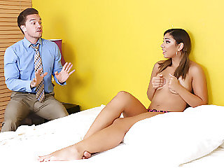 Sexy nanny damsel Mariah gets screwed by big cock of her employer