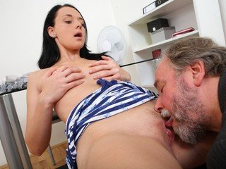 Tiffany may sight innocent, but her messy schoolteacher briefly takes this away
